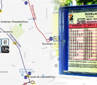 Zmiany w kursowaniu komunikacji miejskiej. Przez remont