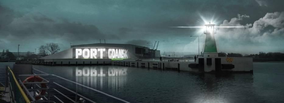 Tak ma ostatecznie wyglądać napis Port Gdańsk