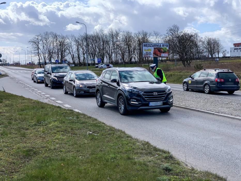 Koronawirus w powiecie puckim: akcja policji i Straży Granicznej  we Władysławowie