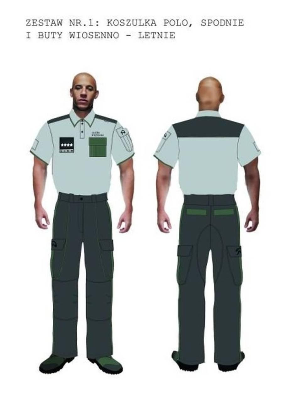 Studenci ASP zaprojektowali mundury dla Służby Więziennej
