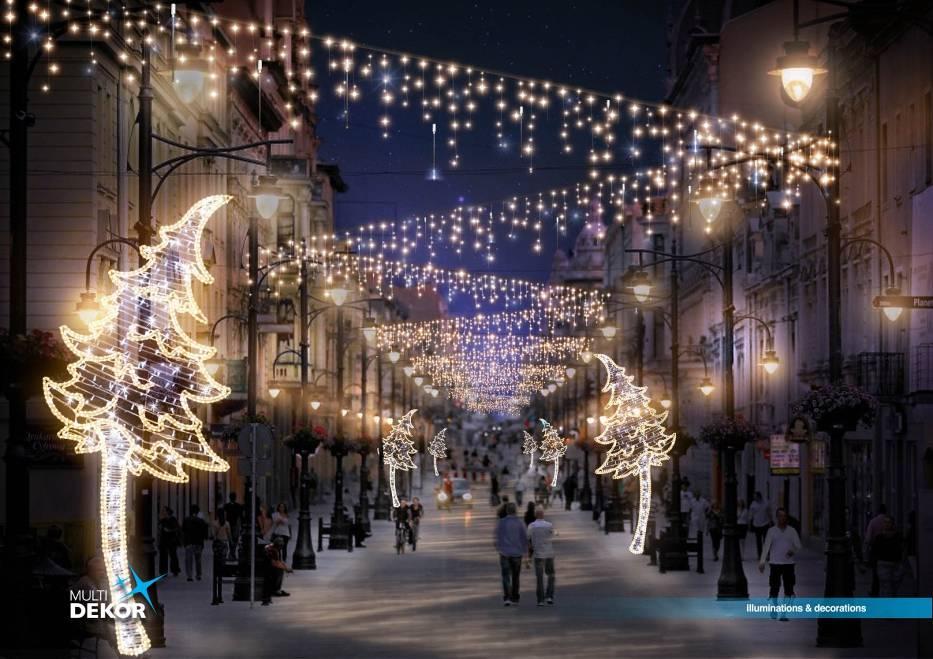 lodz boze narodzenie 2018 Dekoracje Swiateczne Piotrkowska   NaszeMiasto.pl lodz boze narodzenie 2018