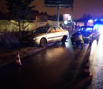 Tragiczny wypadek na Kolumny w Łodzi. Nie żyje mężczyzna [ZDJĘCIA]