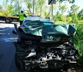 Wypadek w Jastrzębiej Górze: pijany kierowca osobówki wjechał w DAFa