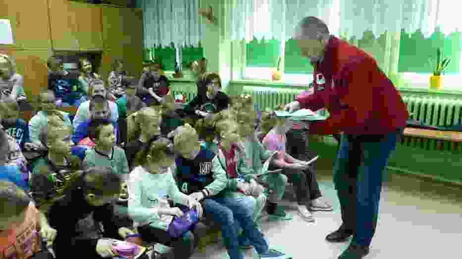 Kaszubski Klub HDK PCK w szkole w Połchowie