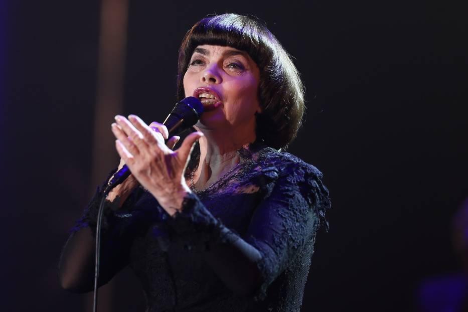 Mireille Mathieu w Polsce