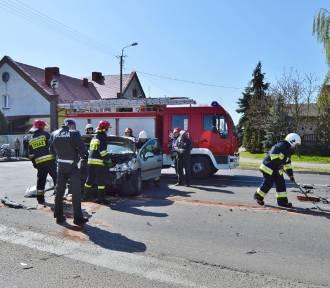 Wypadek w Racocie [ZDJĘCIA]