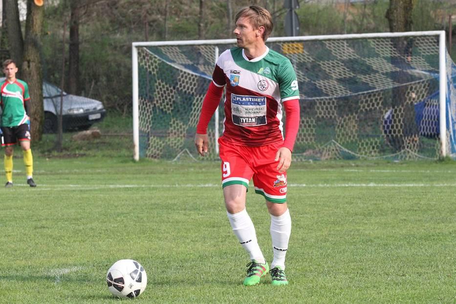 Paweł Sobolewski nie awansował z MKS Ełk do półfinału regionalnego Pucharu Polski