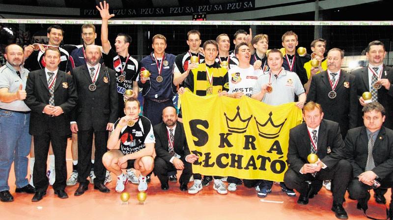 W hali w Olsztynie Skra zdobyła swoje pierwsze złoto