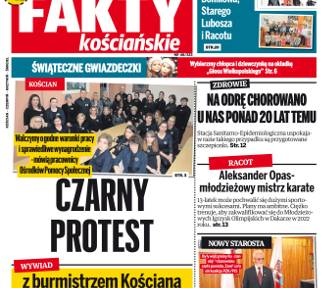 """Nowe """"Fakty Kościańskie"""" w sprzedaży od środy 28 listopada"""