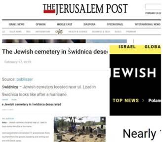 Izraelskie media informują o dewastacji żydowskiego cmentarza w Świdnicy. Nic takiego nie miało