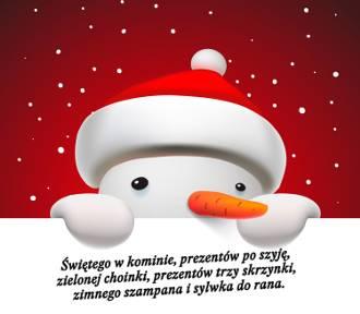 Kartki świąteczne na BOŻE NARODZENIE z życzeniami [do wysłania]