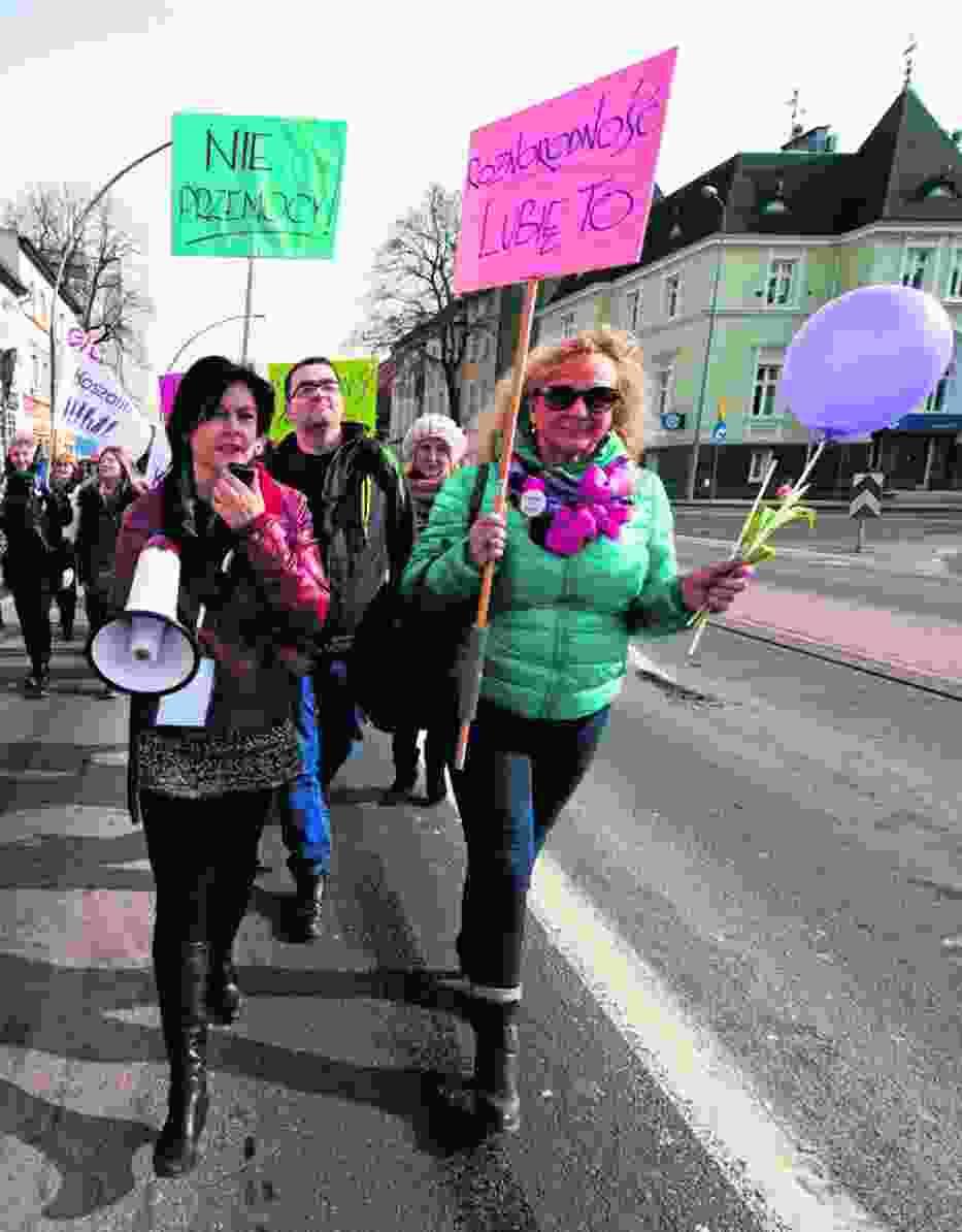 W ubiegłym roku odbyły się w Koszalinie dwie manifestacje kobiet