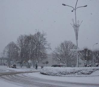 Oleśnica: Zima zawitała do miasta (ZDJĘCIA)