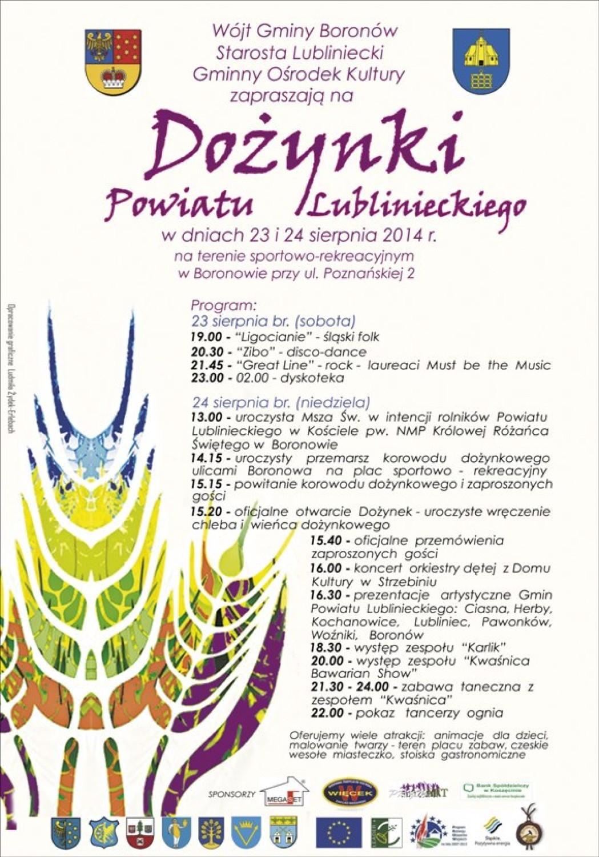 Dożynki Powiatowe w Boronowie