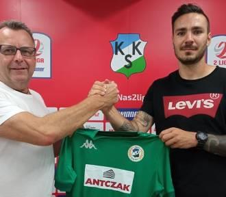 KKS Kalisz podpisał kontrakt z nowym napastnikiem