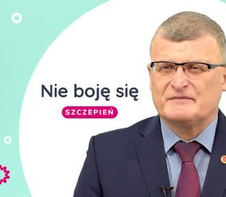 Nie boję się szczepień - mówi Paweł Grzesiowski