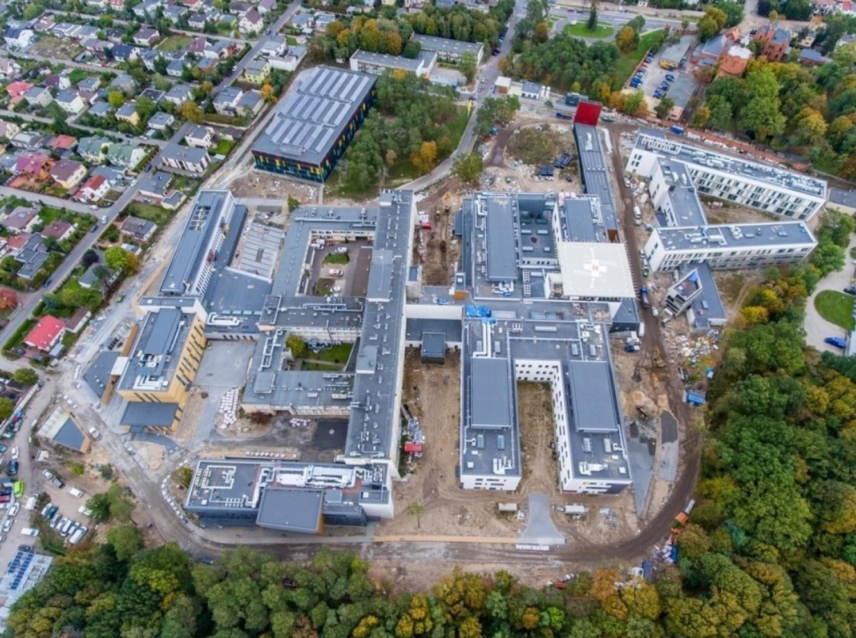 Trwa rozbudowa Wojewódzkiego Szpitala Zespolonego w Toruniu
