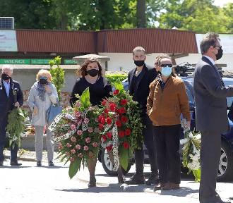 Pogrzeb byłego prezesa ŁKS Łódź Ireneusza Mintusa - ZDJĘCIA