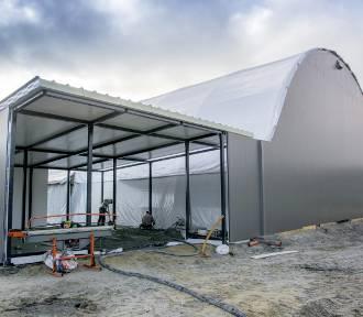 Na początku 2020 roku hala sportowa przy SP nr 7 w Rumi ma zostać oddana do użytku [ZDJĘCIA]