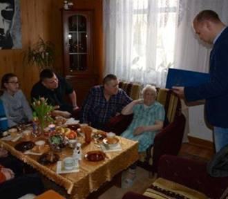 Nowy Dwór Gd. 97 urodziny Łucji Strongowskiej