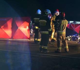 Śmiertelny wypadek w miejscowości Beznatka  pod Kaliszem. ZDJĘCIA