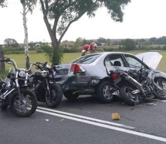 Motocyklista, który zginął w sobotnim wypadku to naczelnik OSP Kłoda