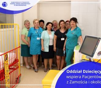 """Oddział pediatryczny w zamojskim """"starym"""" szpitalu będzie nadal zamknięty"""