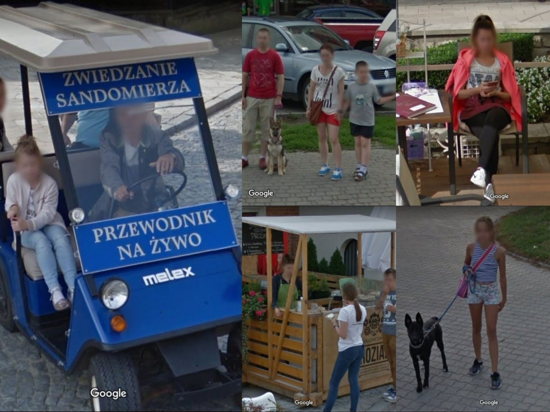 Mamy Cię! Upolowani przez Google'a na ulicach Sandomierza. A może ty też jesteś na którymś zdjęciu? (ZDJĘCIA)
