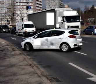 Zderzenie samochodów w Koninie [ZDJĘCIA]