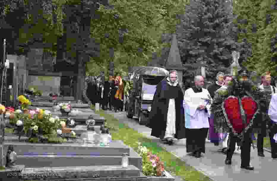 Cmentarz Rakowicki, pogrzeb Jarka Śmietany