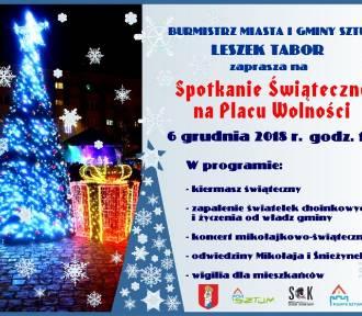 Rozświetlenie choinek oraz świąteczne kiermasze w czwartek w Sztumie i Dzierzgoniu