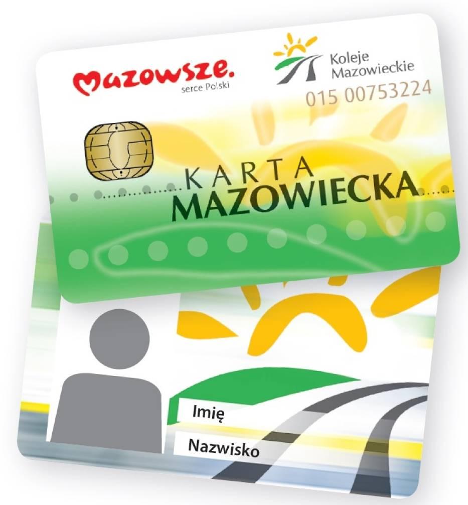 Karta Mazowiecka. Nowe rozwiązanie dla wygody podróżujących
