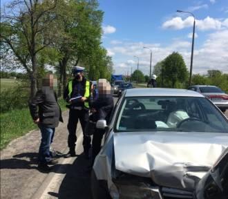 Wypadek w Pradze. 18 maja na Drodze Krajowej nr 72 w okolicy budowanych rond zderzyły się cztery