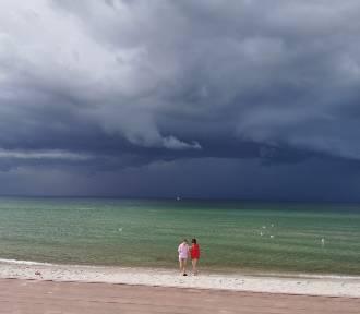 Bardzo fotogeniczna helska majowa burza | ZDJĘCIA