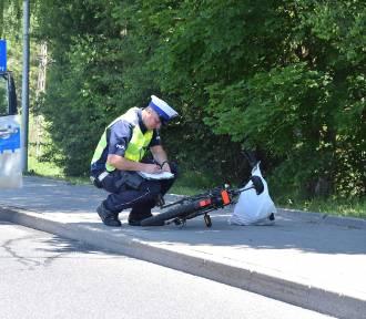 Gmina Trzebielino. Dwa wypadki na drodze krajowej nr 21 (FOTO)