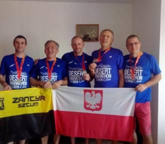 Piotr Dmitrzak najlepszy spośród sztumian w pustynnym maratonie w izraelskim Eilat