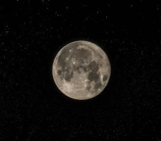Różowa Pełnia Księżyca już z 7 na 8 kwietnia. Księżyc będzie różowy?