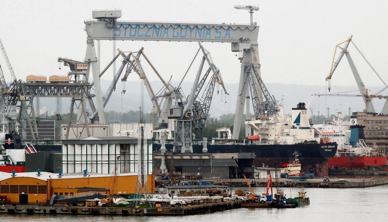 Duży suchy dok - serce Stoczni Gdynia  - wylicytowała gdańska stocznia Crist