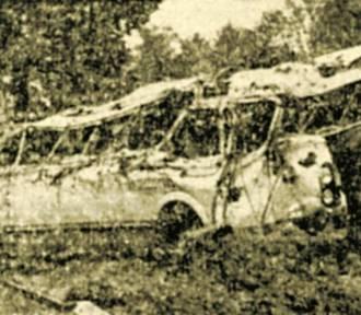Ta tragedia wstrząsnęła Polską: koło Skwierzyny do rzeki wpadł autobus