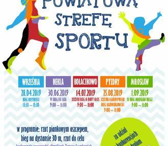 Września: Powiatowa Strefa Sportu - 25 sierpnia widzimy się w Pyzdrach