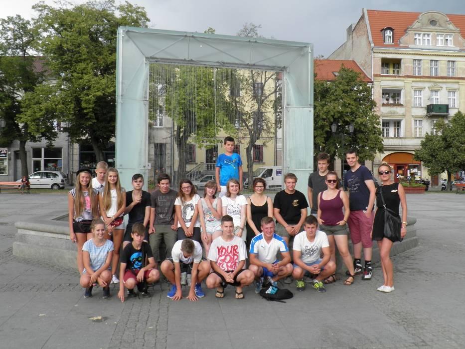 Młodzież mieszkała w Chełmnie