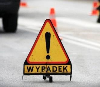 Wypadek na DK 88 w Zabrzu. Nie żyje motorowerzysta