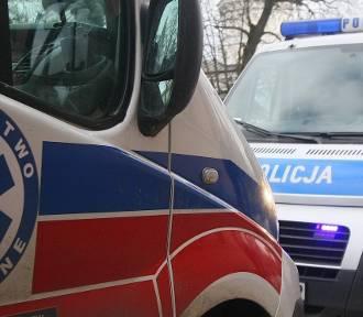 Wypadek w Kiełczewie. Nie żyje mężczyzna, który spadł z dachu