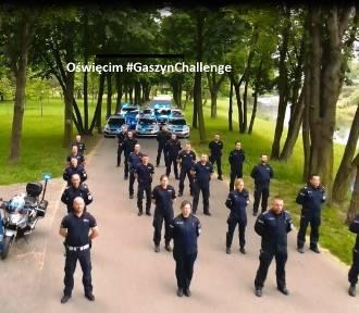 Oświęcimscy policjanci dołączyli do akcji #GaszynChallenge