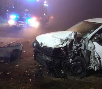 Wypadek pod Leśnicą. Pasażer stracił palec [nowe informacje]