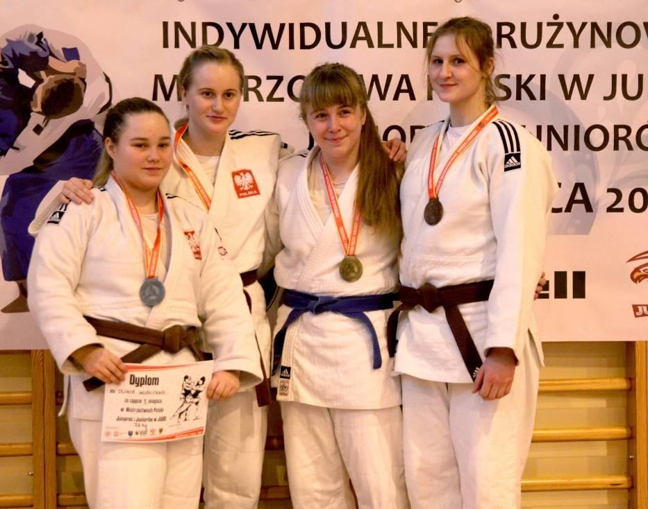 Martyna Nolewajka (GKS Czarni Bytom) zdobyła brązowy medal podczas mistrzostw Polski juniorek i juniorów rozegranych w Kątach Wrocławskich