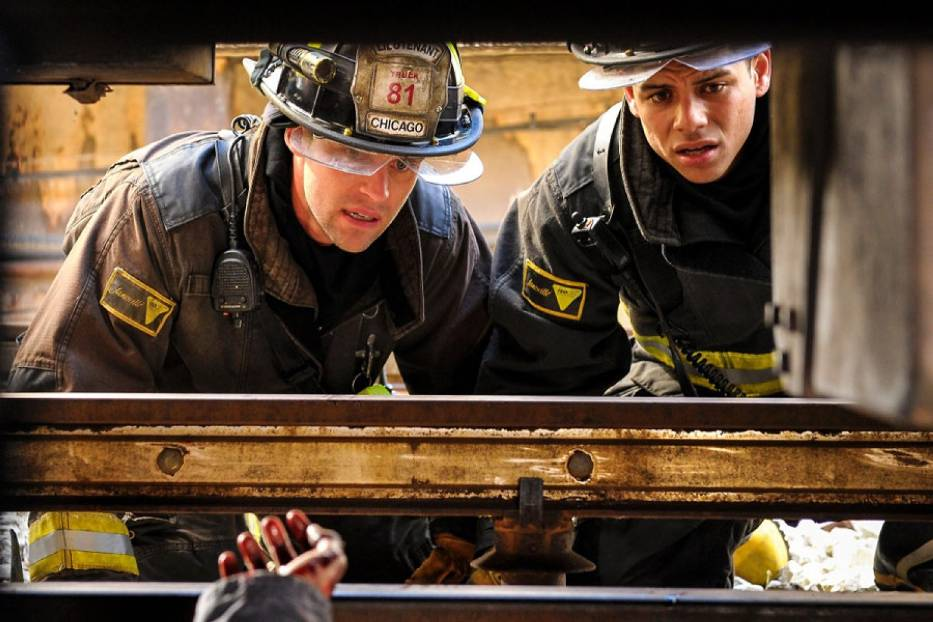 "Kadr z serialu ""Chicago Fire"""