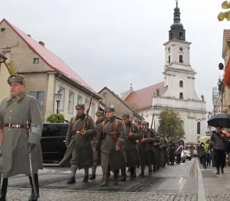 Ochotnicza Kompania Wielkopolska przemaszerowała ulicami Wolsztyna