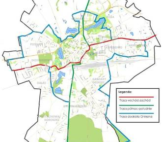 Powstaje koncepcja kompleksowej sieci dróg rowerowych w Gnieźnie