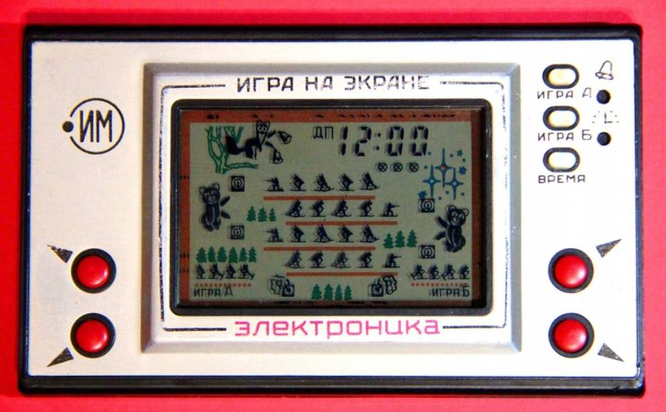 Gra ruska elektronikaNa portalach aukcyjnych można natknąć się na sprawne gry rodem z ZSRR